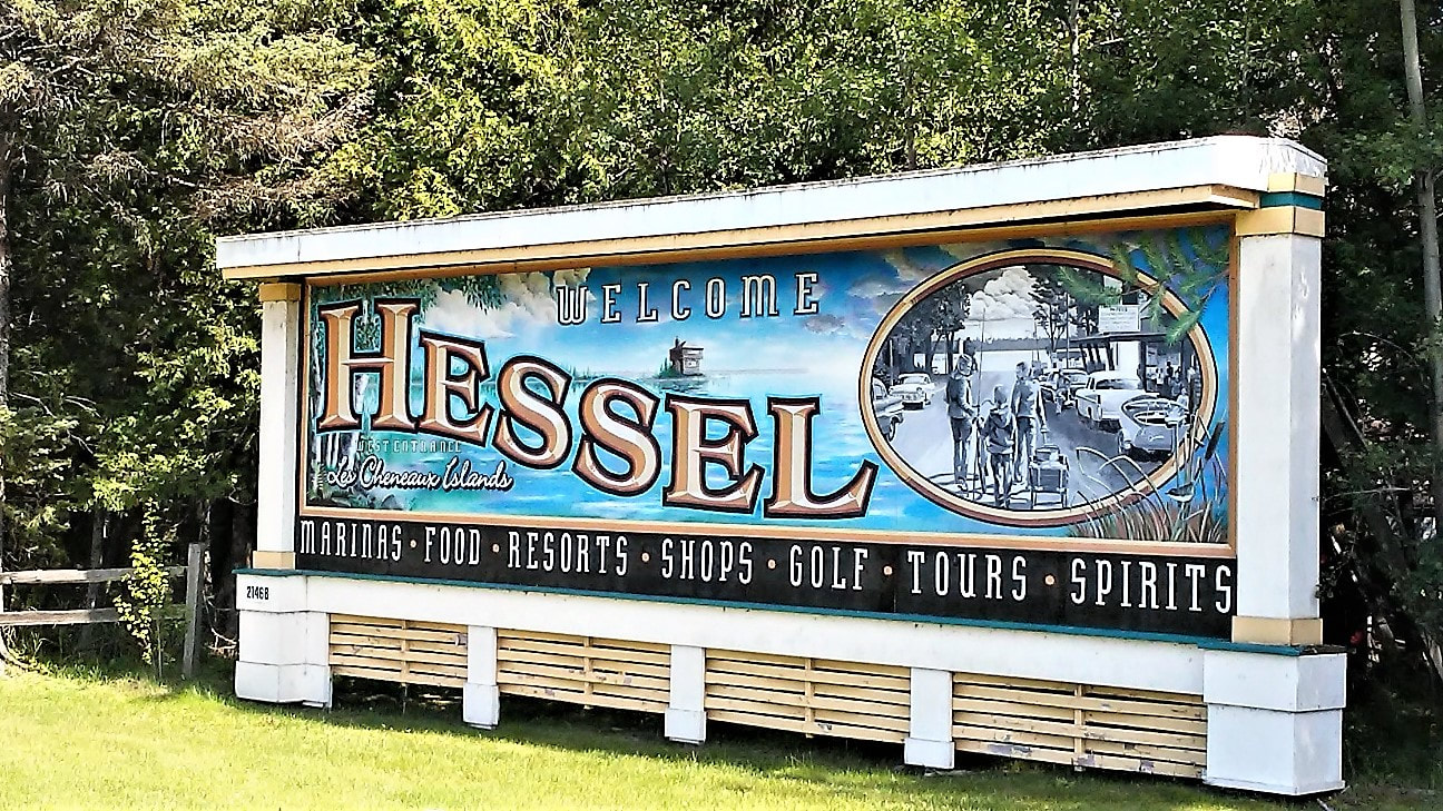 On your way into town you'll pass the sign for the Hessel School House, an  old two-room schoolhouse built in 1937, which is now a year-round Avery  arts and ...